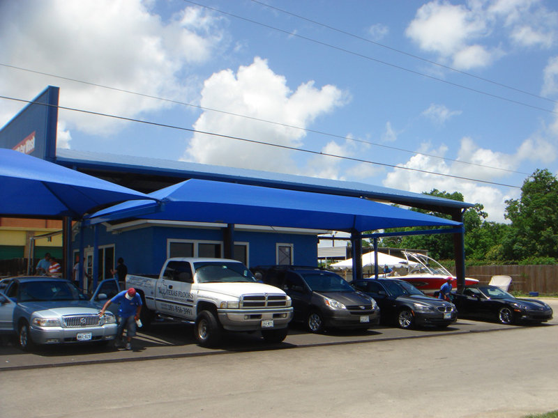 Car Shade Canopy : Car wash shade structures sails canopies awnings