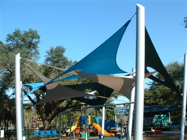 Discounted outdoor sun shade sails shade structures for Shade sail cost
