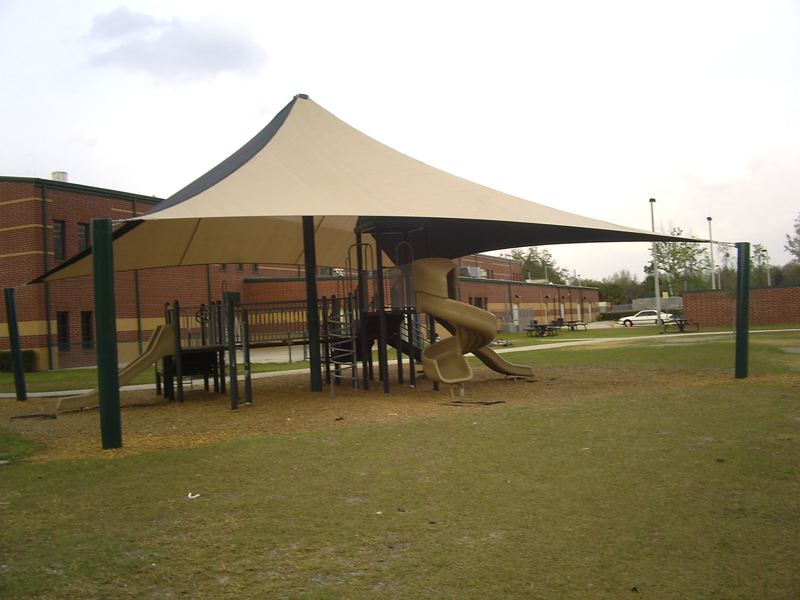 Playground Outdoor Awnings & Outdoor Playground Shade Structures Sun Shade Sails Canopies ...