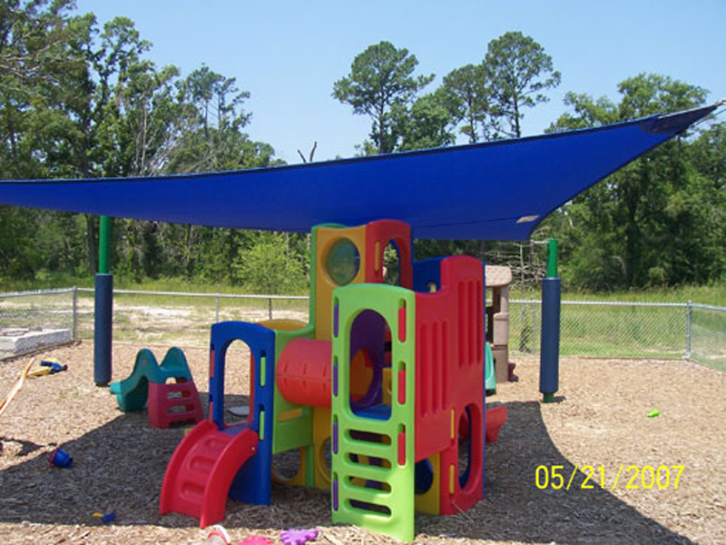 playground outdoor sun shade structures