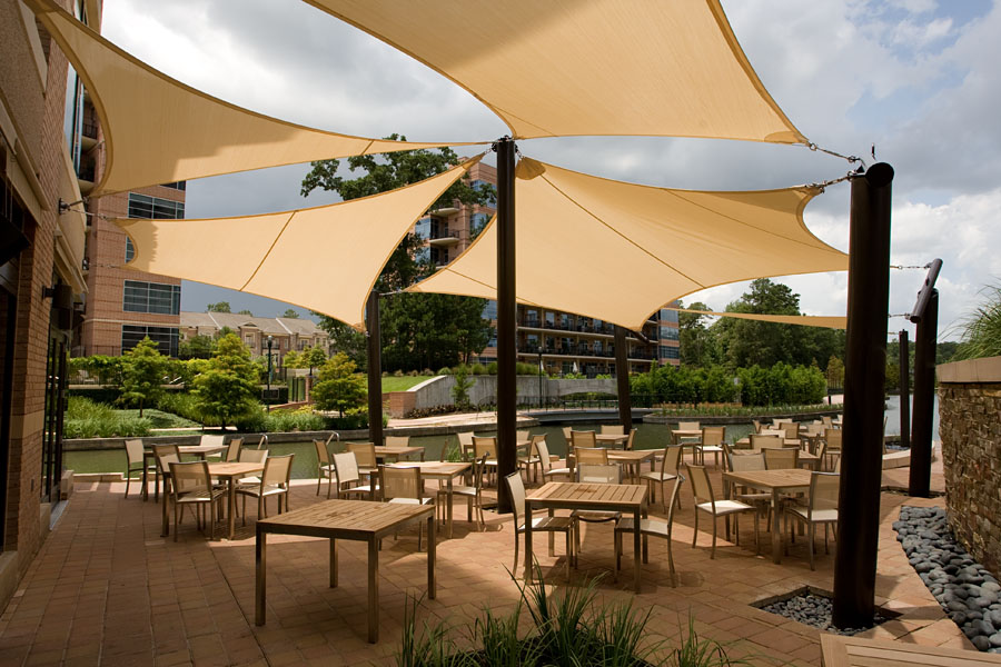 Discounted outdoor sun shade sails shade structures for Shade structures
