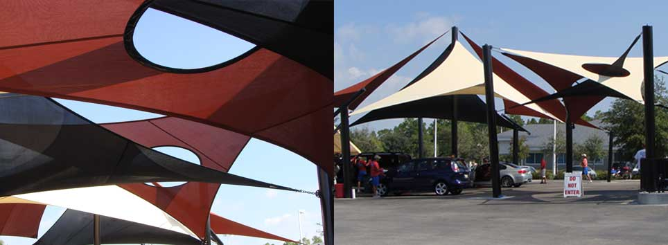 Flex Slider Image ... & Affordable Outdoor Sun Shade Sails Shade Structures Canopies ...