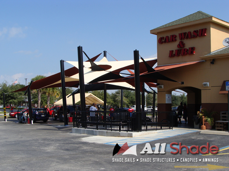 Carwash Shade Structure Shade Sail Canopy Awning (7) & Pictures of Shade Structures. Shade Sails Canopies u0026 Awnings