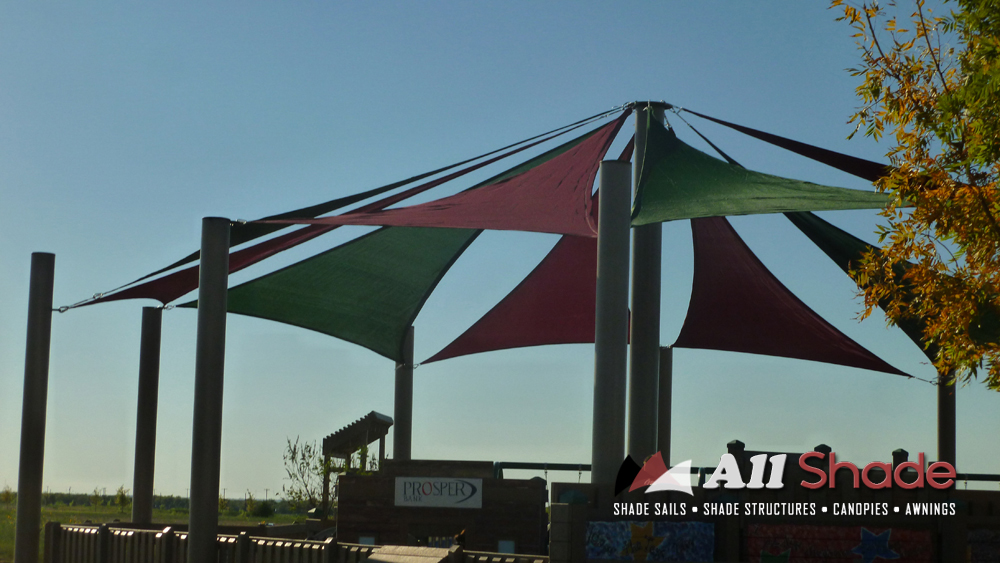 Playground Shade  Structure Shade Sail Canopy Awning  (5)