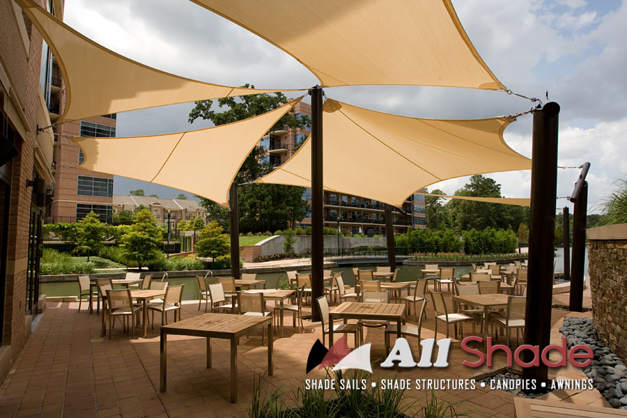 Restaurant Awning Canopy Shade Sail Shade Structure 1