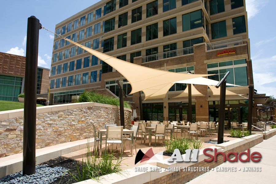 Pictures Of Shade Structures Sails Canopies Awnings