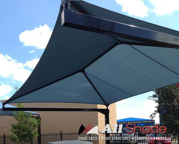 Playground Shade  Structure Shade Sail Canopy Awning  (12)