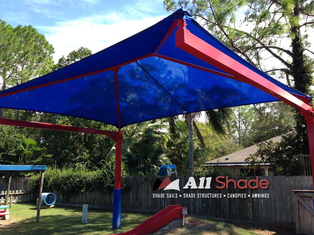 Photo 7 for Shade sail cost