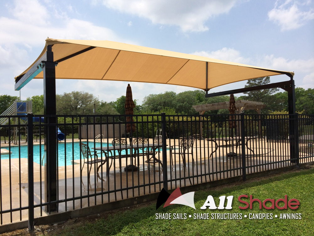 Pictures of shade structures shade sails canopies awnings for Shade structures